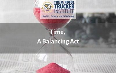 Time; A Balancing Act