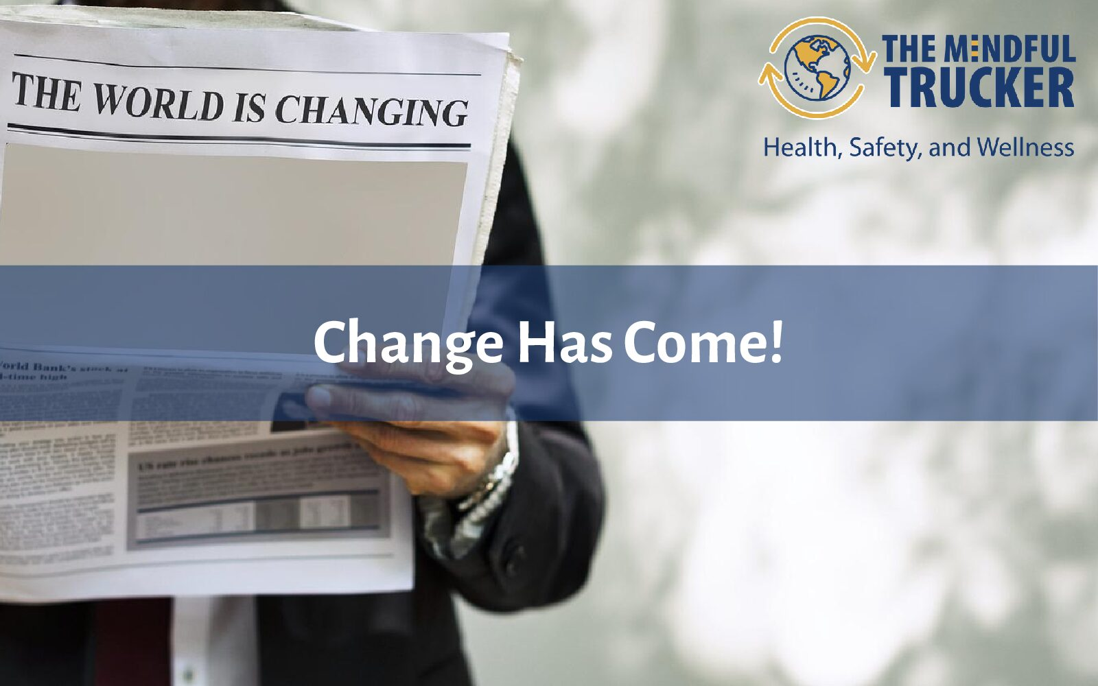 Change Has Come!